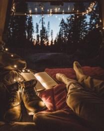 man boots book sunset