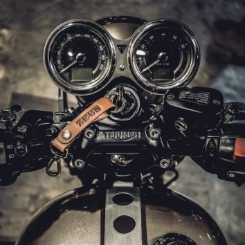 triumph motorcycle rider point of view