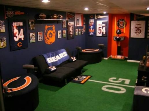 chicago bears manly room