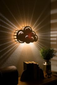 cloud wall sconce