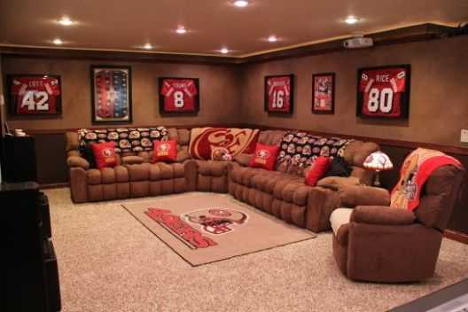 san francisco 49er man cave