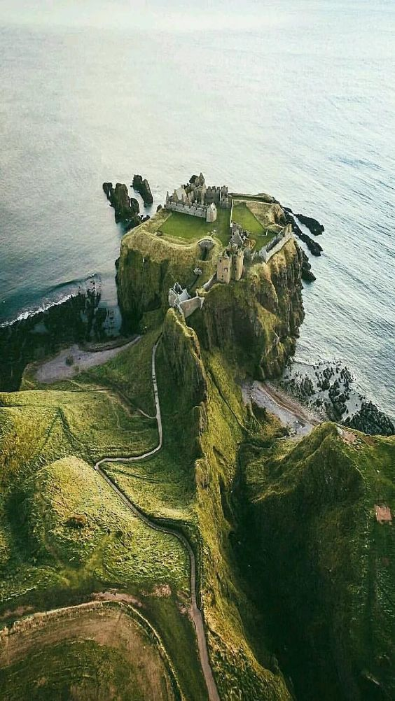 castle on cliff