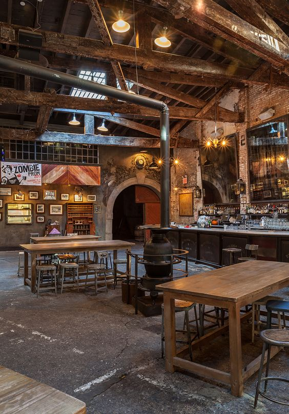 rustic brewery