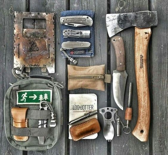 axe and other outdoor gear for men