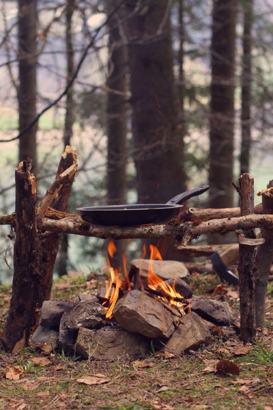 open fire cooking