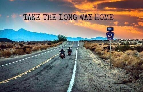 take the long way home