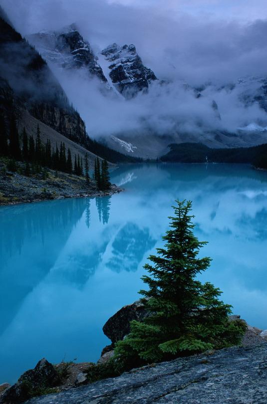 cold mountain lake