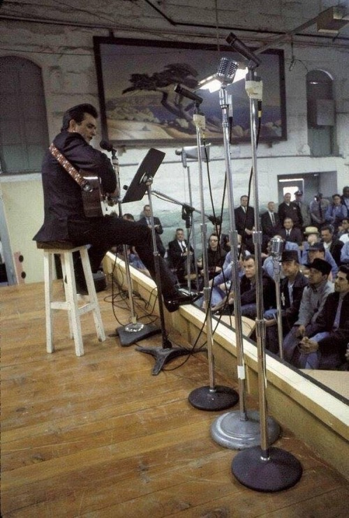 johnny cash prison performance