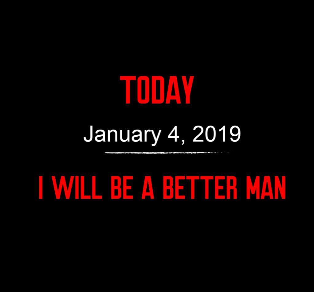 better man 1-4-19