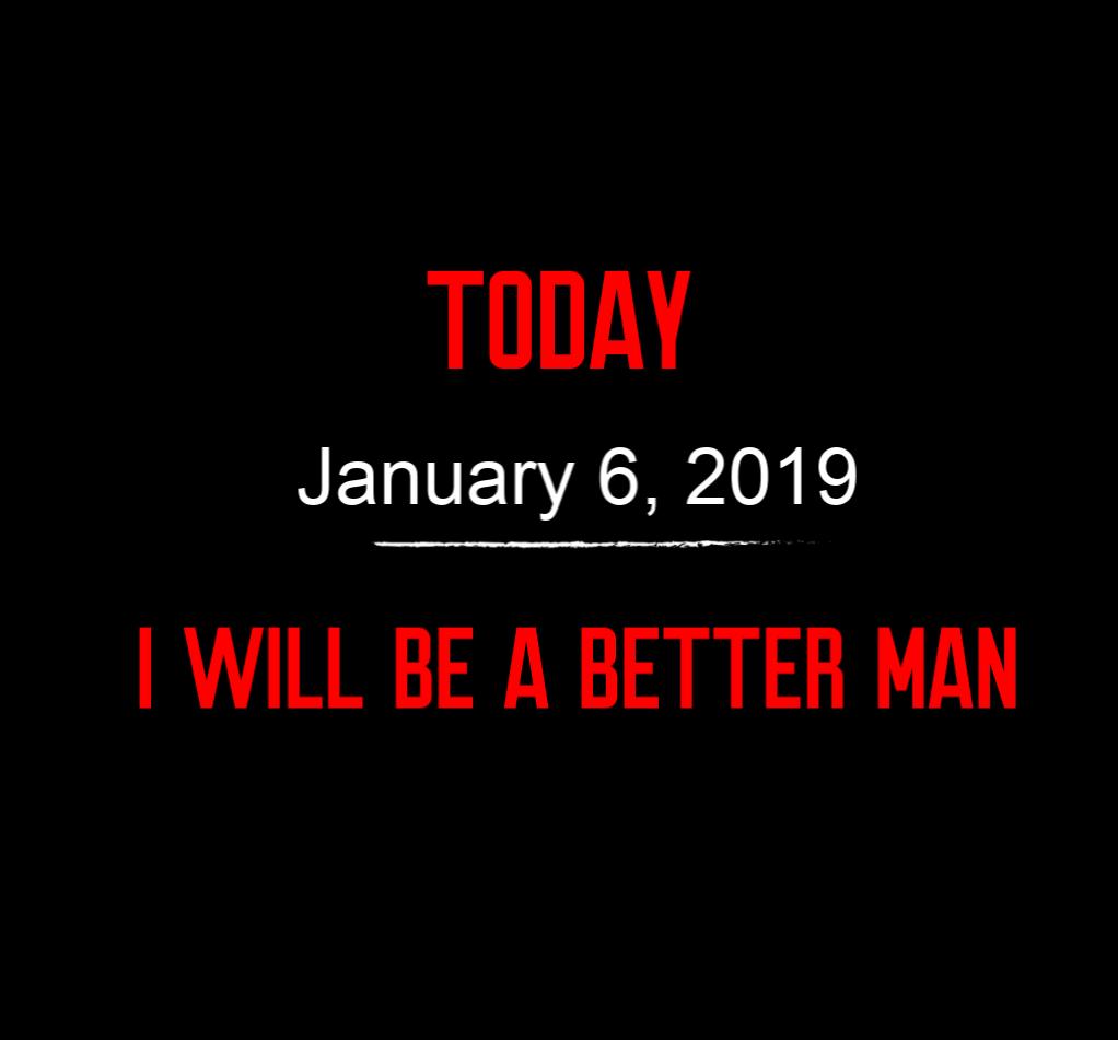better man 1-6-19