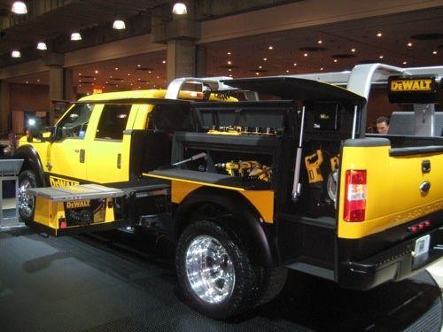 dewalt truck