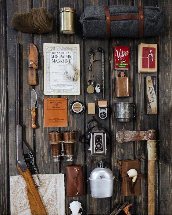 old school adventure kit