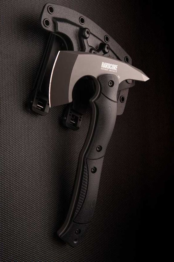 black handle axe
