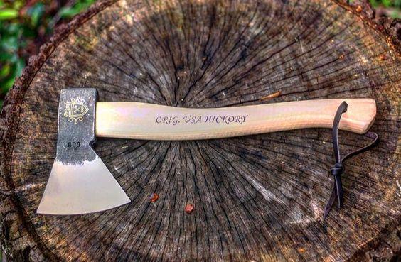 original usa hickory ax