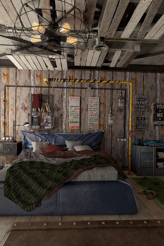 manly bedroom