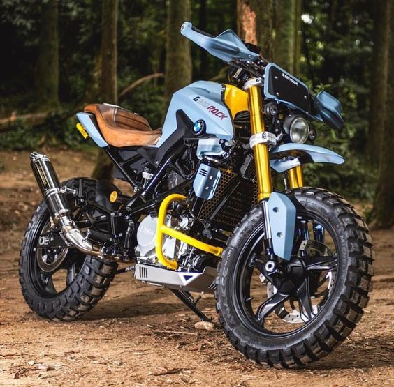 tough enduro motorcycle
