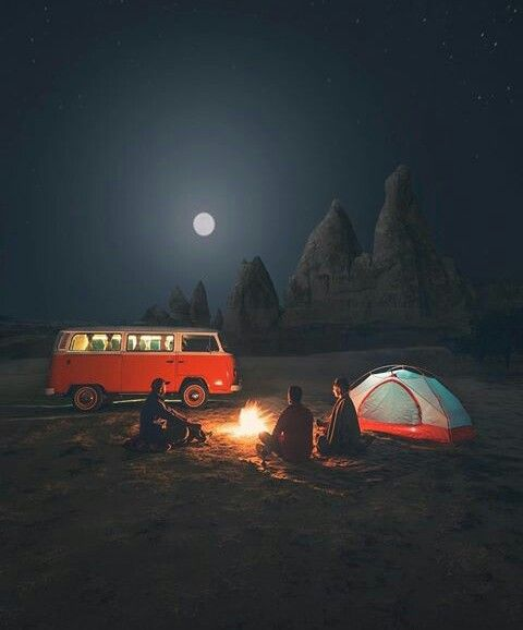 summer night camp out