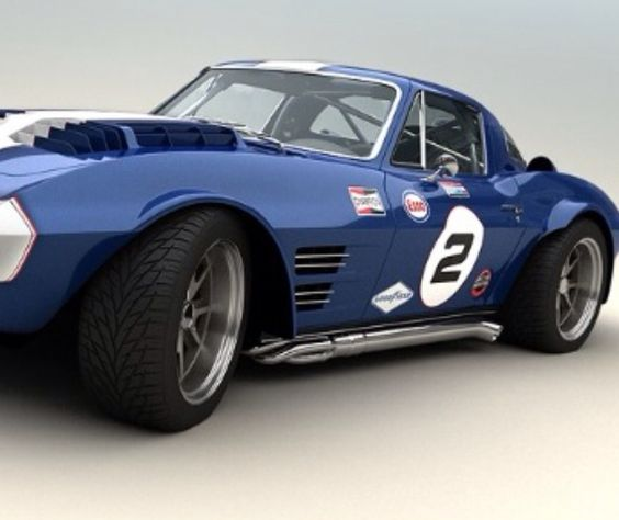 blue racing cobra