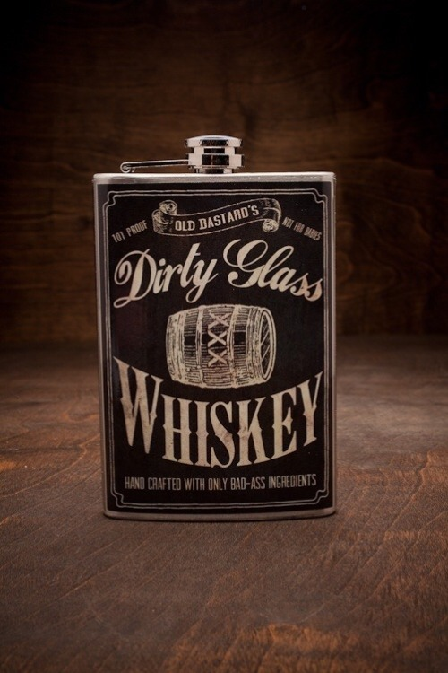 whiskey flask