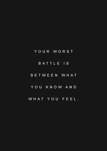 your worst battle