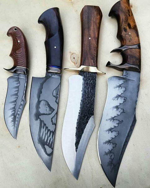 beautiful custom made knives