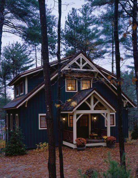 masculine cabin design