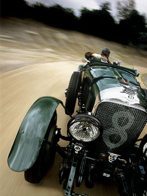 really old school race car