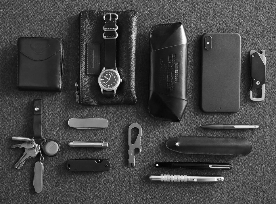 Silver and Black Every Day Carry
