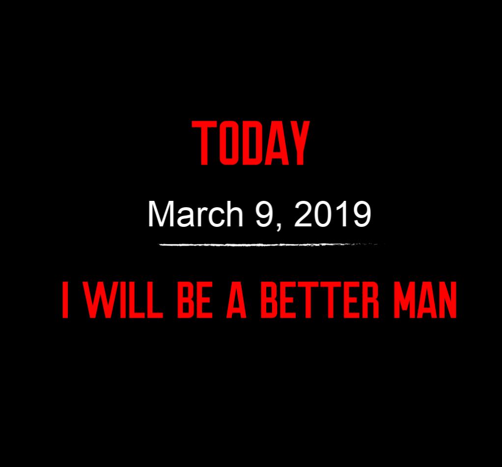 better man 3-9-19