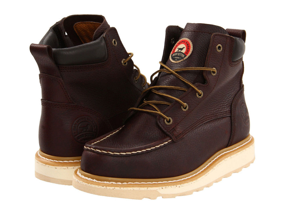 Irish Setter by Red Wing Shoes Mens Ashby Wedge 6 Lace-Up Work Boots
