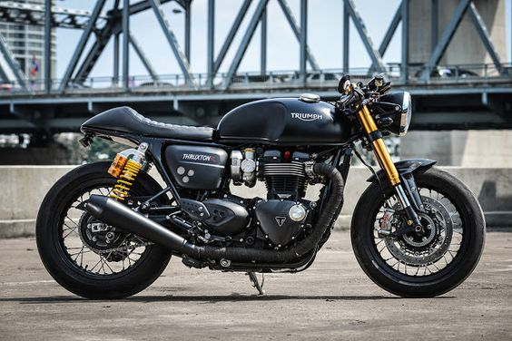 K-Speeds Custom Triumph Thruxton R