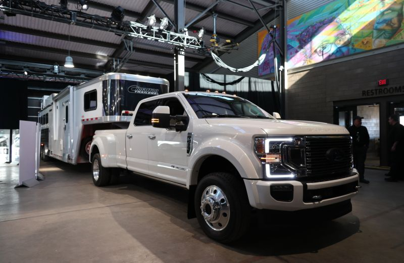 White 2020 Ford Super Duty