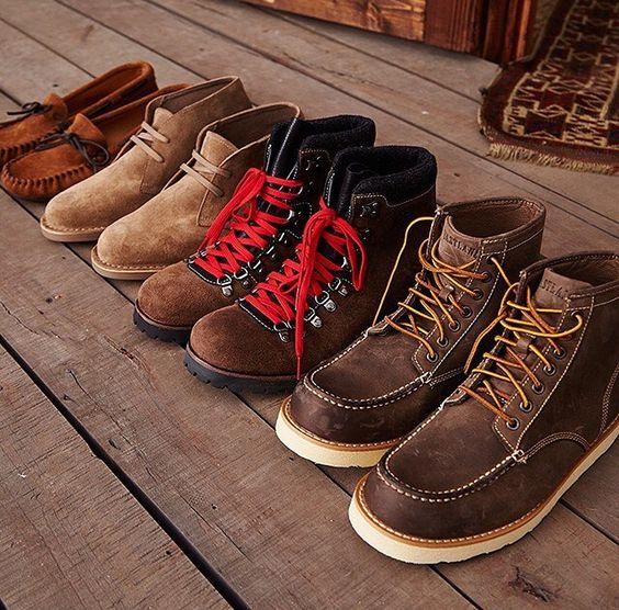 mens footwear lineup