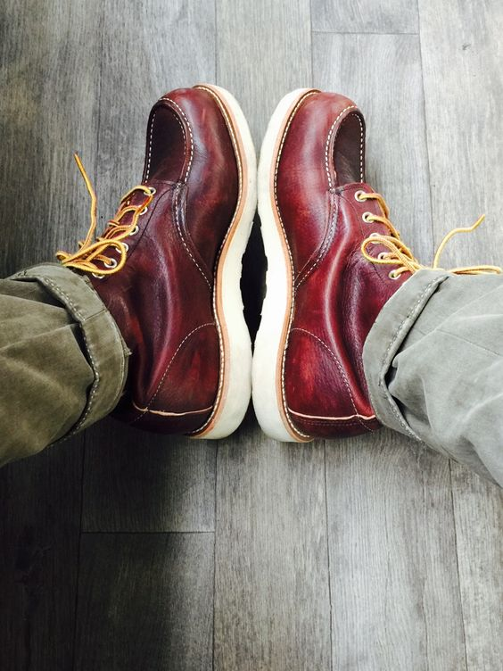 new pair of red wings