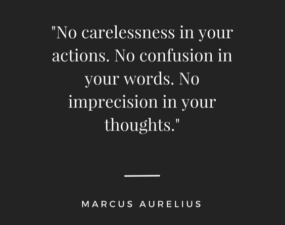 precision in your thoughts