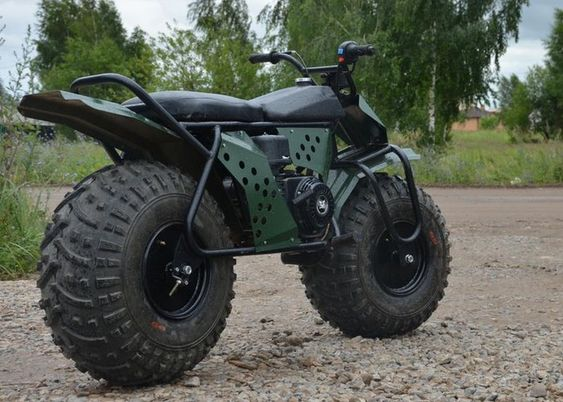 Rugged TARUS 2×2 Motorcycle