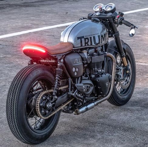 manly triumph motorcycle