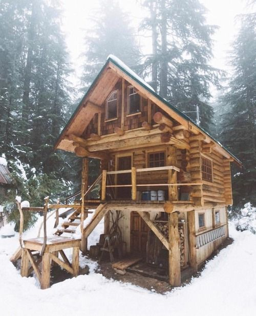 multi level cabin