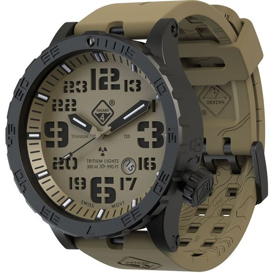 Hazard 4 Heavy Water Diver Mens Watch
