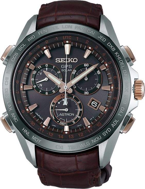 Seiko Astron - GPS Solar Chronograph Mens Watch