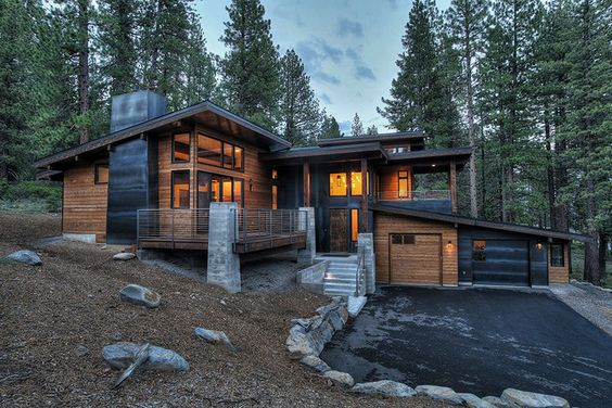 modern masculine home design