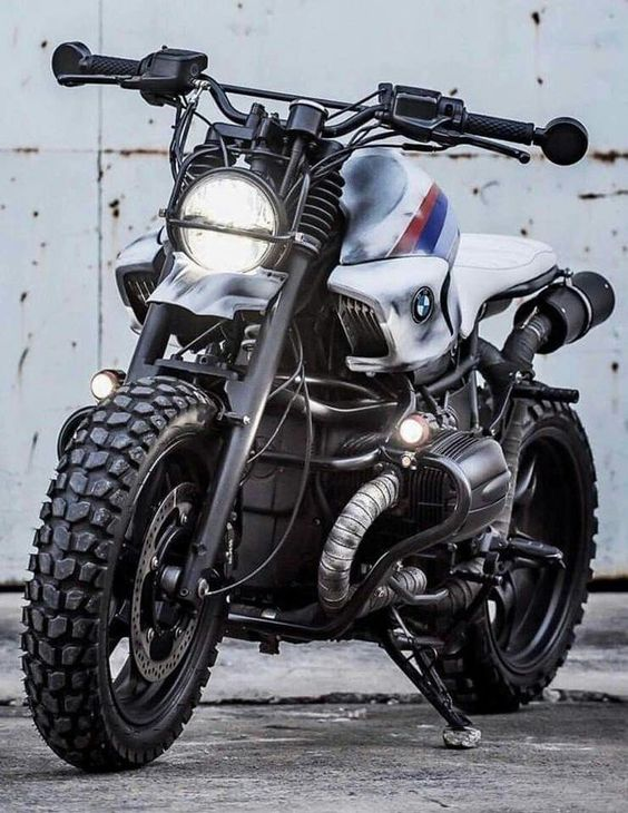 sturdy looking dual sport bmw motorcycle