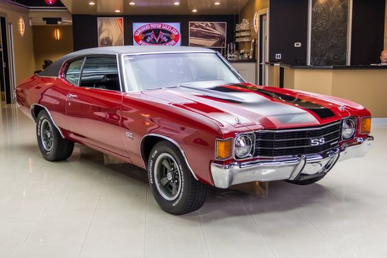 1972 Chevrolet Chevelle SS 502 4bbl 4speed stick