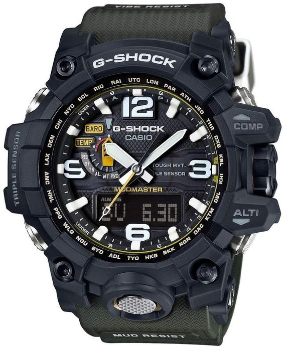 G-Shock Mudmaster Atomic Resin Mens Watch