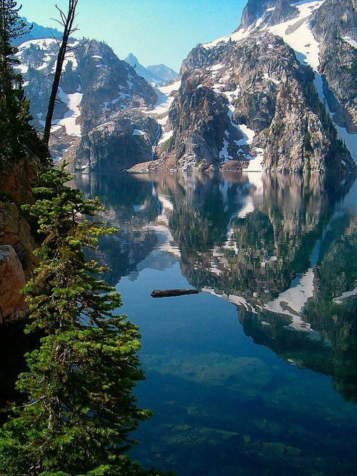 Goat Lake - Sawtooth National Recreation Area - Custer County - Idaho