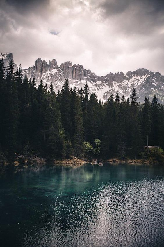 beautiful lake scene