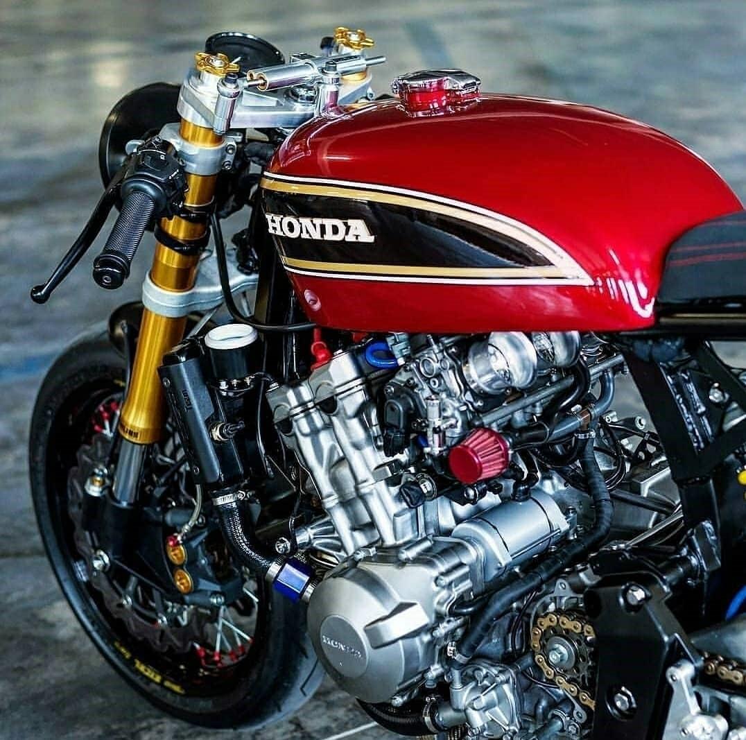honda cafe style motorcycle