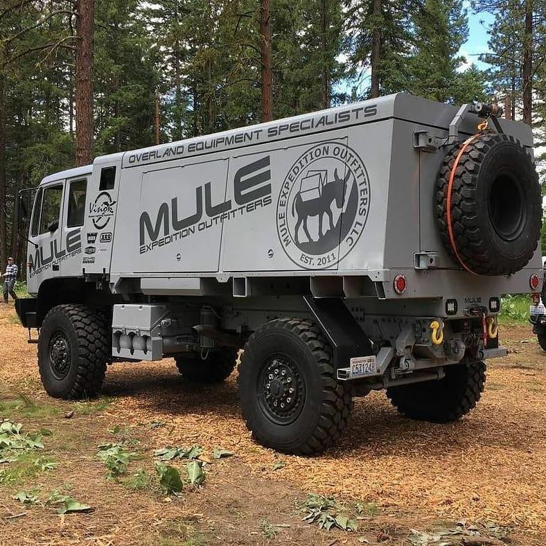 mule heavy duty truck