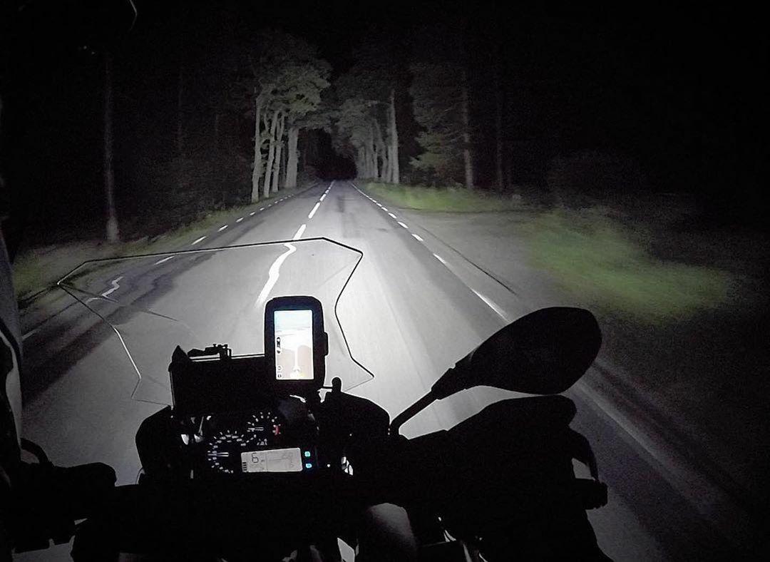 nighttime ride