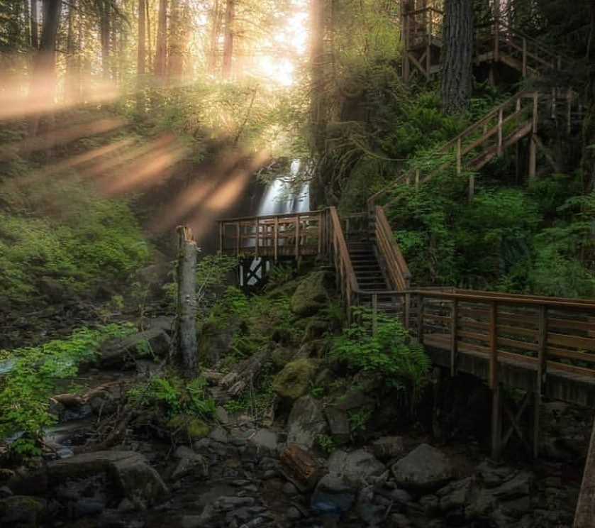McDowell Creek Falls Oregon